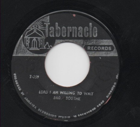 Ken Boothe - Lord I Am Willing To Wait / Wonderful Friend