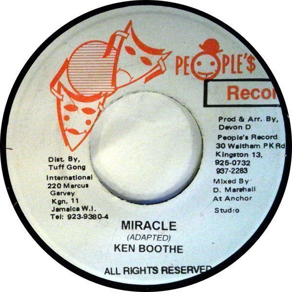 Ken Boothe - Miracle