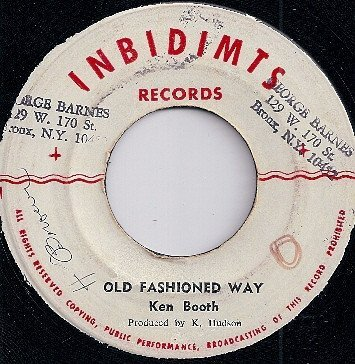 Ken Boothe - Moon Rock / Old Fashioned Way