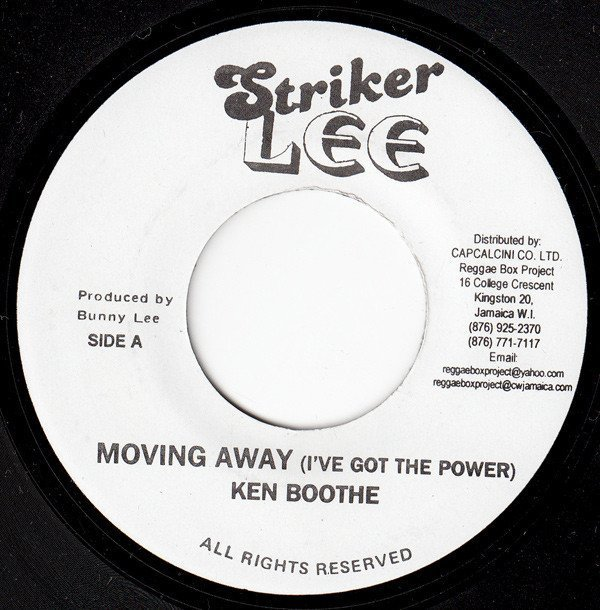 Ken Boothe - Moving Away (I