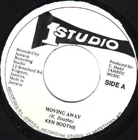 Ken Boothe - Moving Away / Street Of Gold