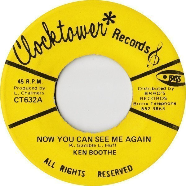 Ken Boothe - Now You Can See Me Again / See I Again