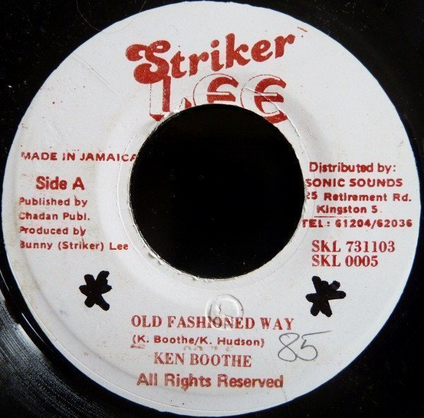 Ken Boothe - Old Fashioned Way / Redemption Song