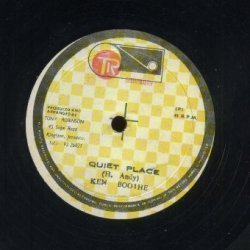Ken Boothe - Peace & Love In The Ghetto / Quiet Place