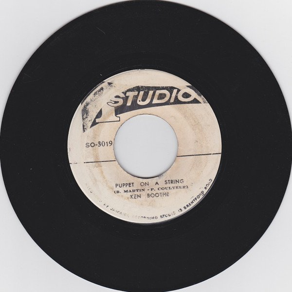 Ken Boothe - Puppet On A String / Willow Weep
