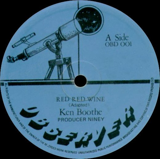 Ken Boothe - Red Red Wine / Sunday Paper
