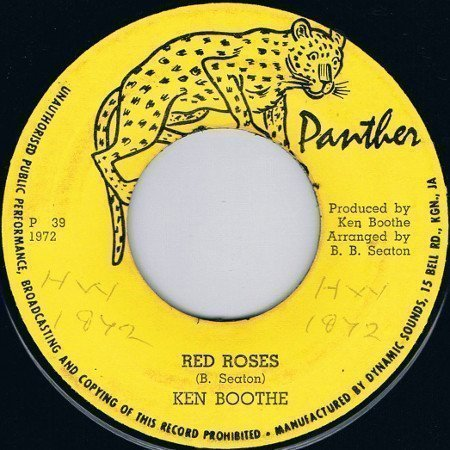 Ken Boothe - Red Roses