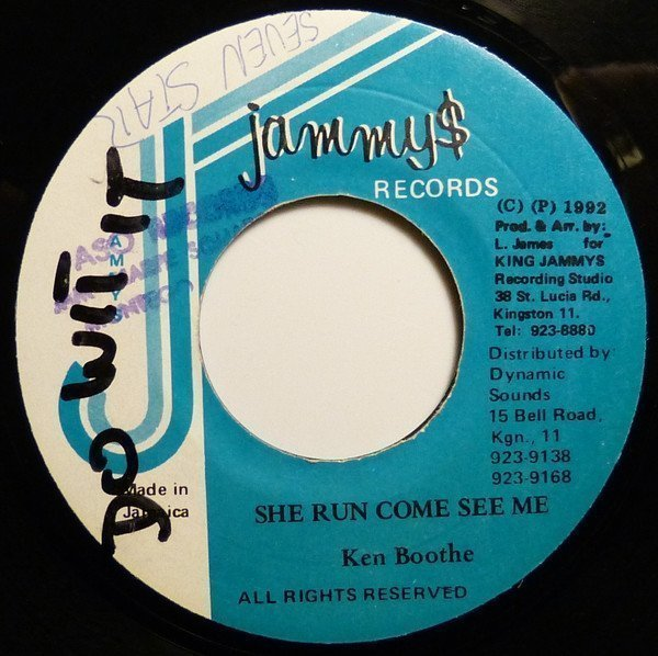 Ken Boothe - She Run Come See Me
