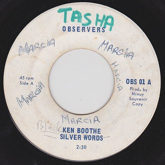 Ken Boothe - Silver Words / Because I