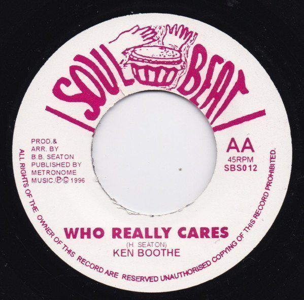 Ken Boothe - Sinners / Who Really Cares