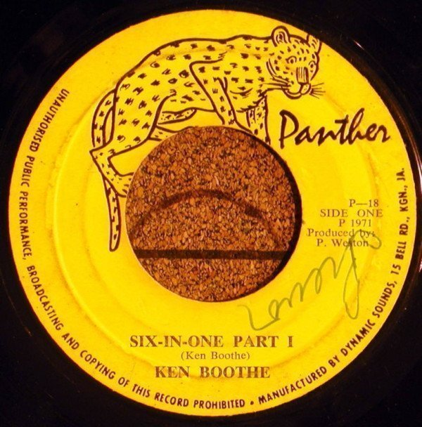 Ken Boothe - Six-In-One Part I / Six-In-One Part II