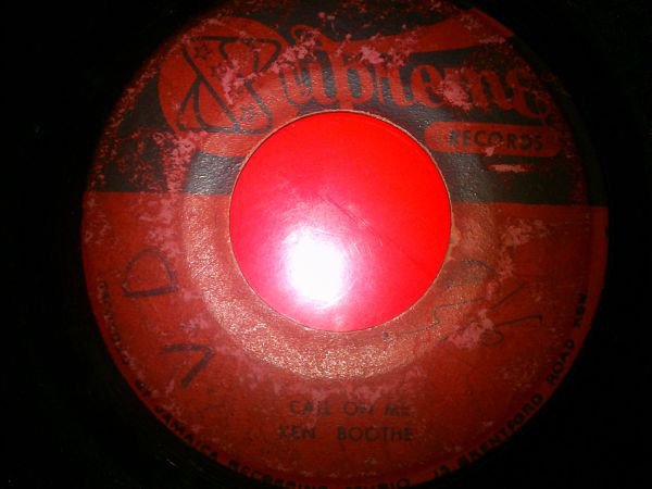 Ken Boothe - Someone Has Taken My Place / Call On Me