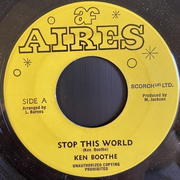 Ken Boothe - Stop This World