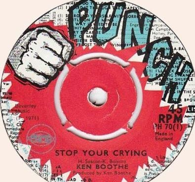 Ken Boothe - Stop You Crying / Suffering Through The Nation