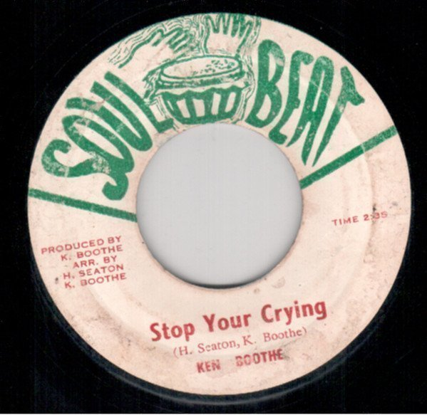 Ken Boothe - Stop Your Crying