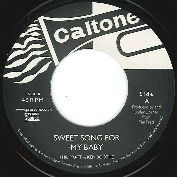 Ken Boothe - Sweet Song For My Baby / What Kind Of Man