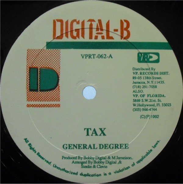 Ken Boothe - Tax / All The Way