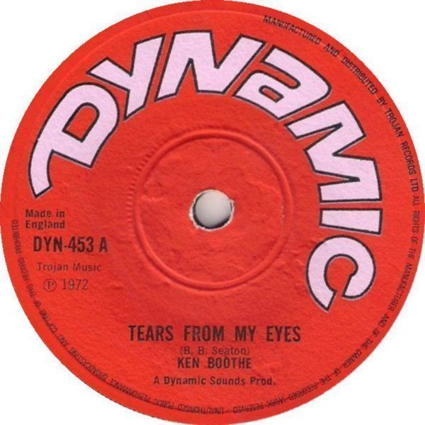 Ken Boothe - Tears From My Eyes