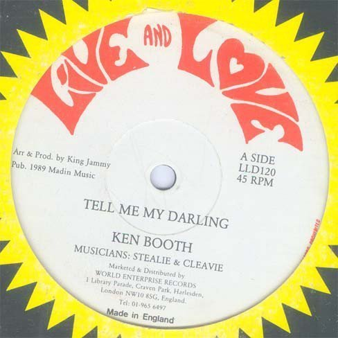 Ken Boothe - Tell Me My Darling / My Love