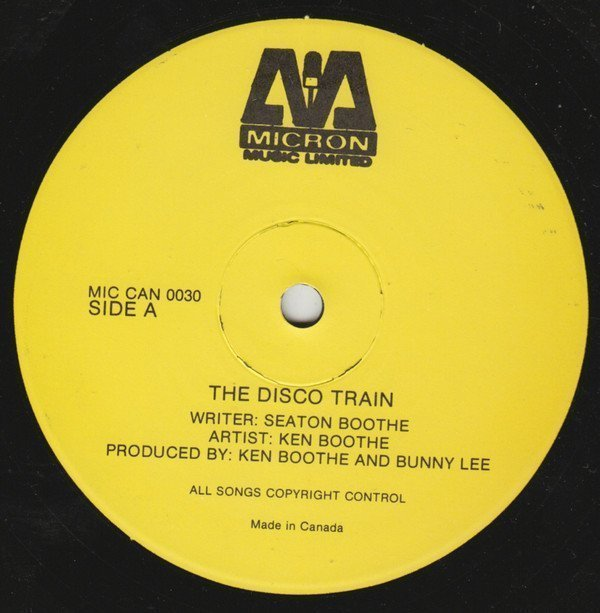 Ken Boothe - The Disco Train / Now You Come Running Back