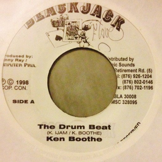 Ken Boothe - The Drum Beat / I Who Have Nothing