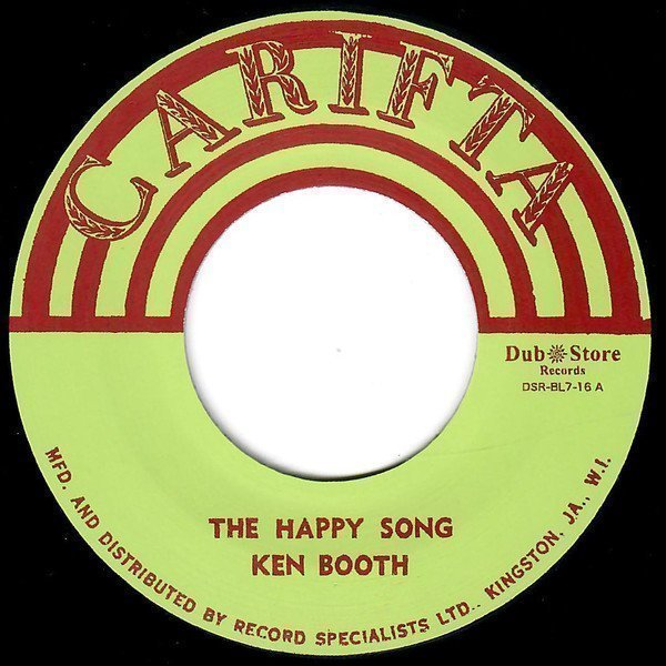 Ken Boothe - The Happy Song / What You Gonna Do
