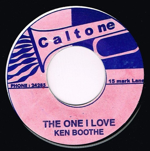 Ken Boothe - The One I Love / Get On The Ball