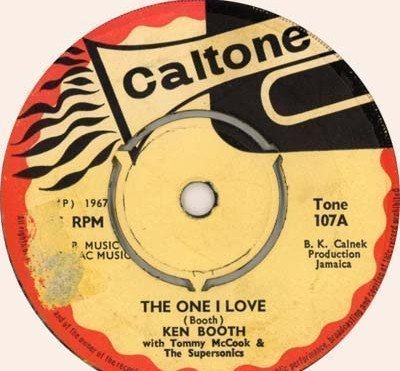 Ken Boothe - The One I Love / You Left The Water Running