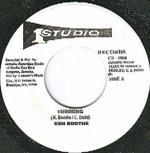 Ken Boothe - Thinking / I