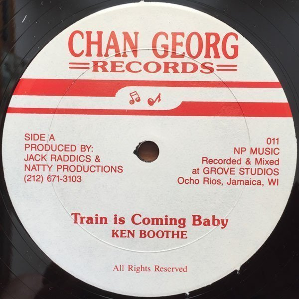 Ken Boothe - Train Is Coming Baby / Friday Night