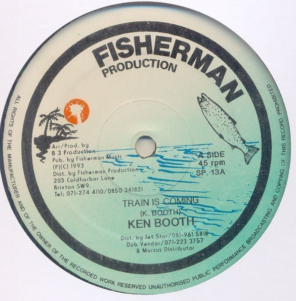 Ken Boothe - Train Is Coming / Gone A Dancehall