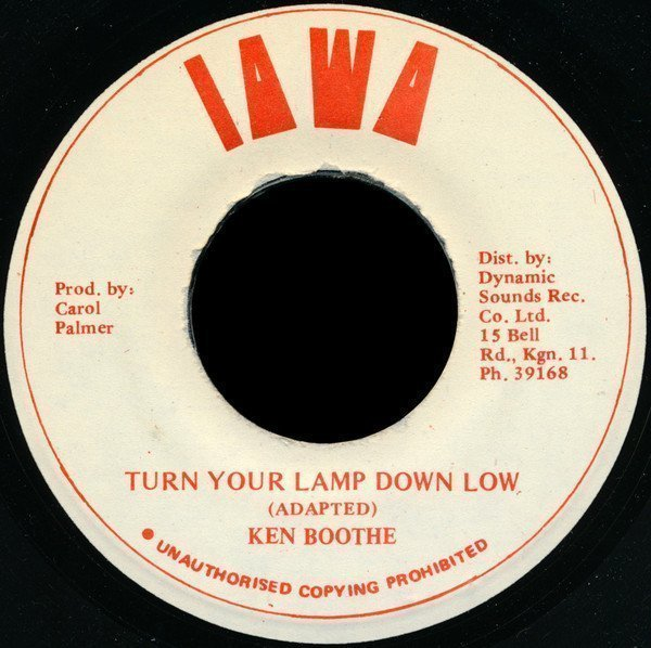 Ken Boothe - Turn Your Lamp Down Low