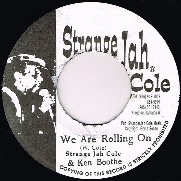 Ken Boothe - We Are Rolling On / Where The Boys Are