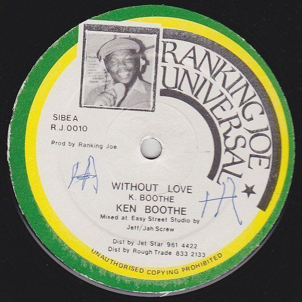 Ken Boothe - Without Love / Superman & Spiderman In A Combination
