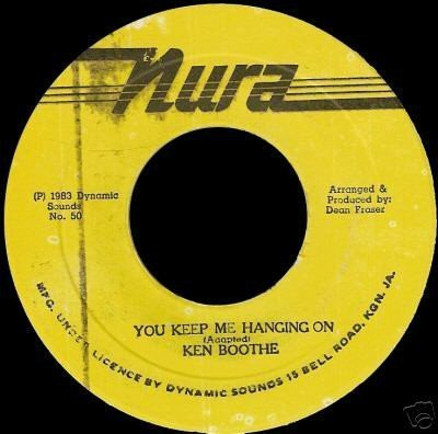 Ken Boothe - You Keep Me Hanging On