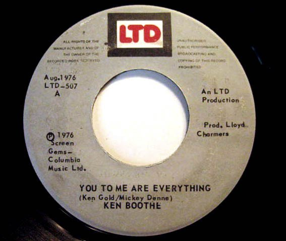 Ken Boothe - You To Me Are Everything