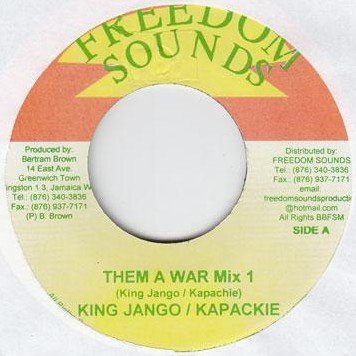 King Django - Them A War Mix 1 / Them A War Mix 2