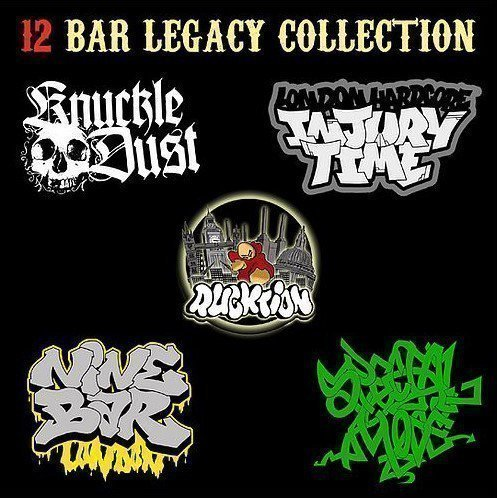Knuclkledust - 12 Bar Legacy Collection