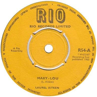Laurel Aitken - Mary-Lou / Jump And Shout