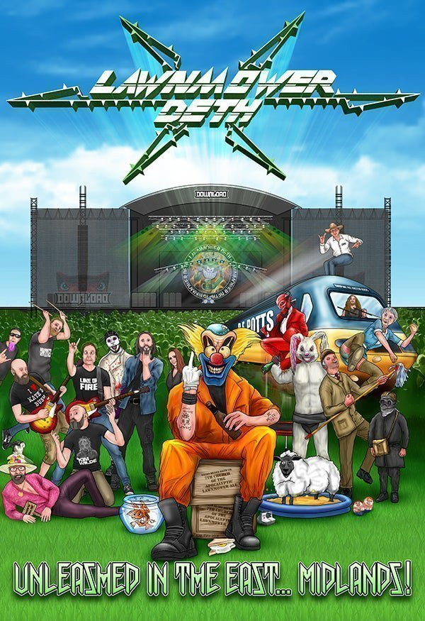 Lawnmower Deth - Unleashed In The East... Midlands