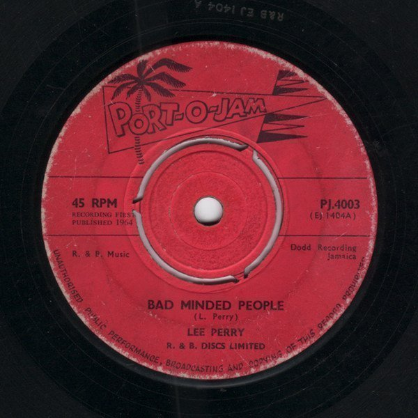 Lee Perry Meets Bullwackie - Bad Minded People / Jam Rock