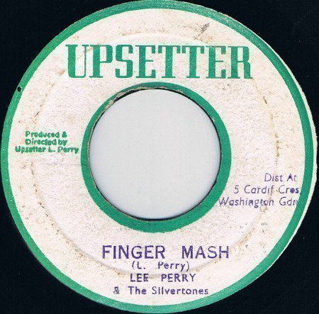 Lee Perry Meets Bullwackie - Finger Mash / Dub The Music