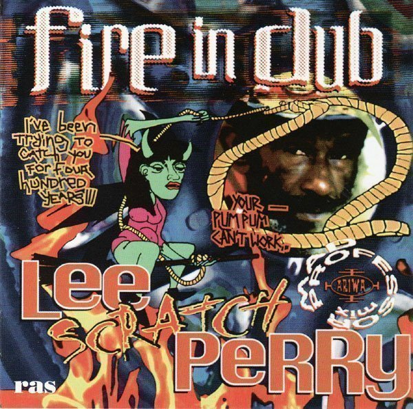 Lee Perry Meets Bullwackie - Fire In Dub