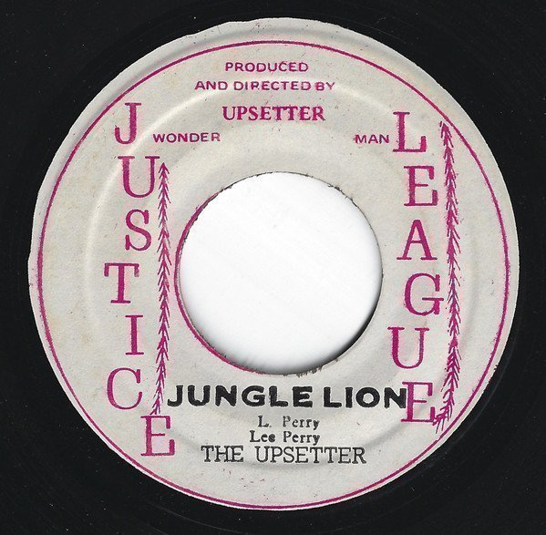 Lee Perry Meets Bullwackie - Jungle Lion / Freak Out Skank