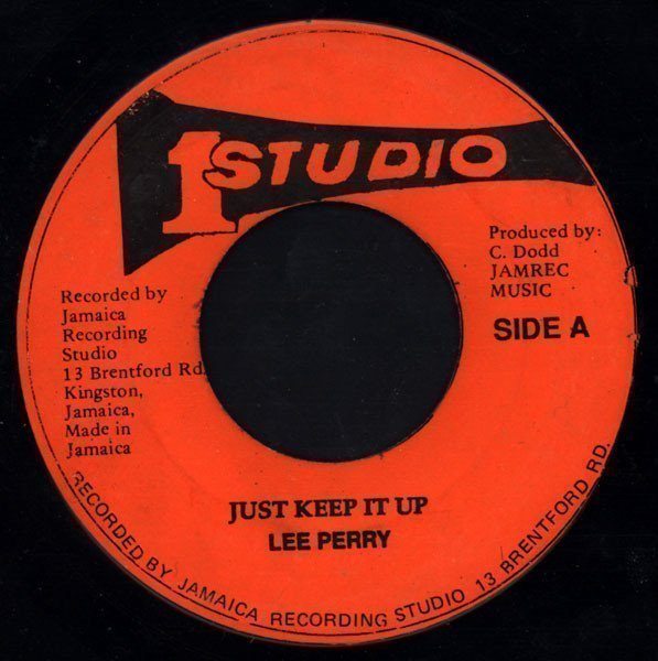 Lee Perry Meets Bullwackie - Just Keep It Up / You Troubled Me