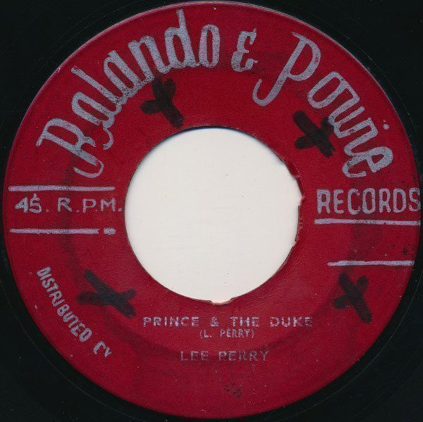 Lee Perry Meets Bullwackie - Old For New / Prince & The Duke