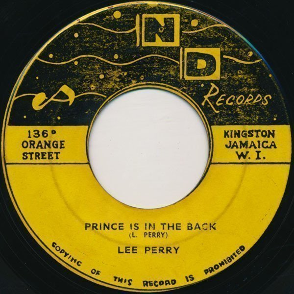 Lee Perry Meets Bullwackie - Prince Is In The Back / Don