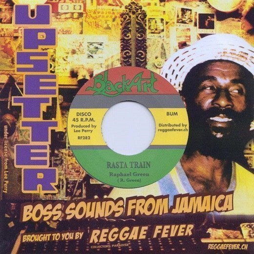 Lee Perry Meets Bullwackie - Rasta Train / Ashes And Dust