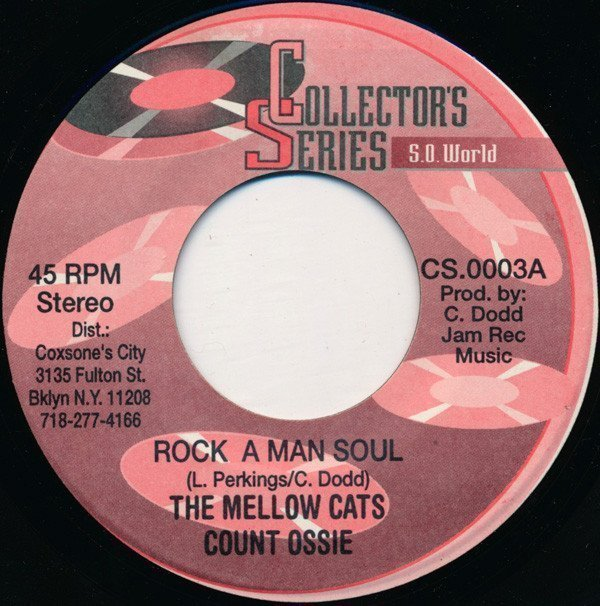 Lee Perry Meets Bullwackie - Rock A Man Soul / Prince Is In The Back
