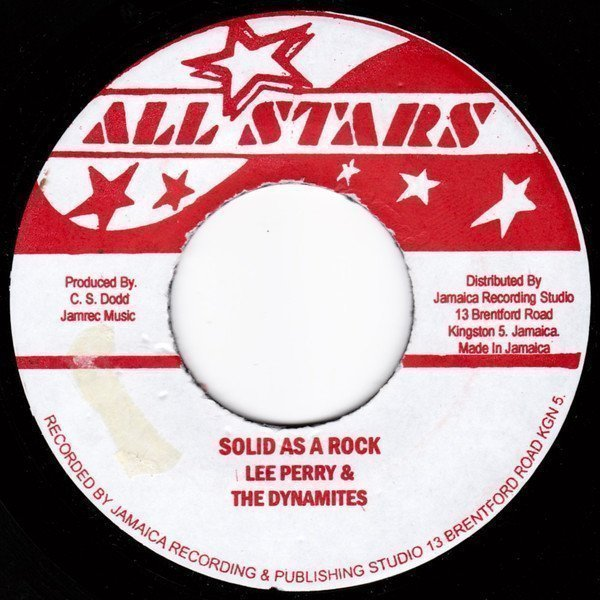 Lee Perry Meets Bullwackie - Solid As A Rock / The Rocket